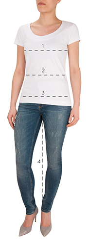 Gemini Woman measuring guide
